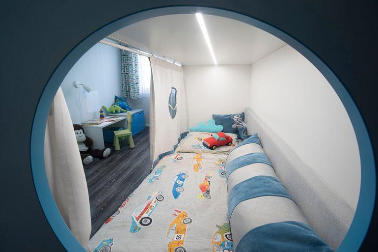 Návrh nábytku do dětského pokoje