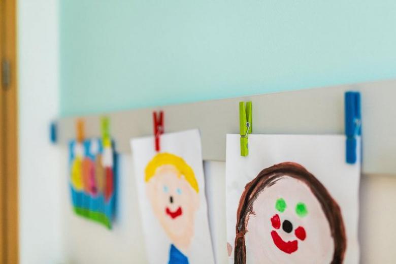 Návrh nástěnky do dětského pokoje