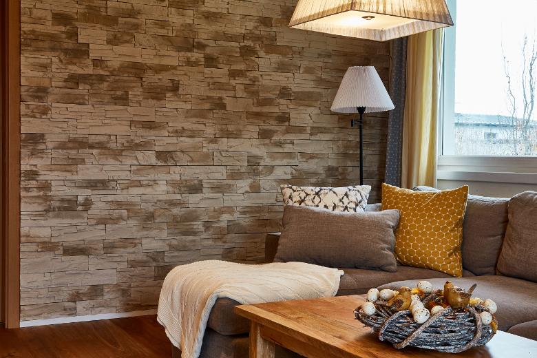Venkovský interiér - přírodní materiály