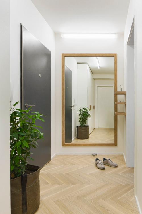 Interiér bytu český design- chodba