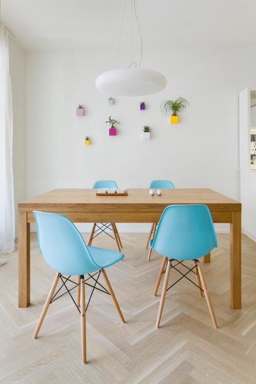 Interiér bytu s českým designem - svítidlo Lucis