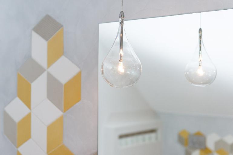 Návrh luxusní koupelny - zrcadlo