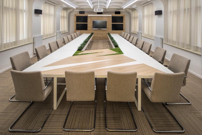 Návrh firemního interiéru, design kanceláří, firemní identita